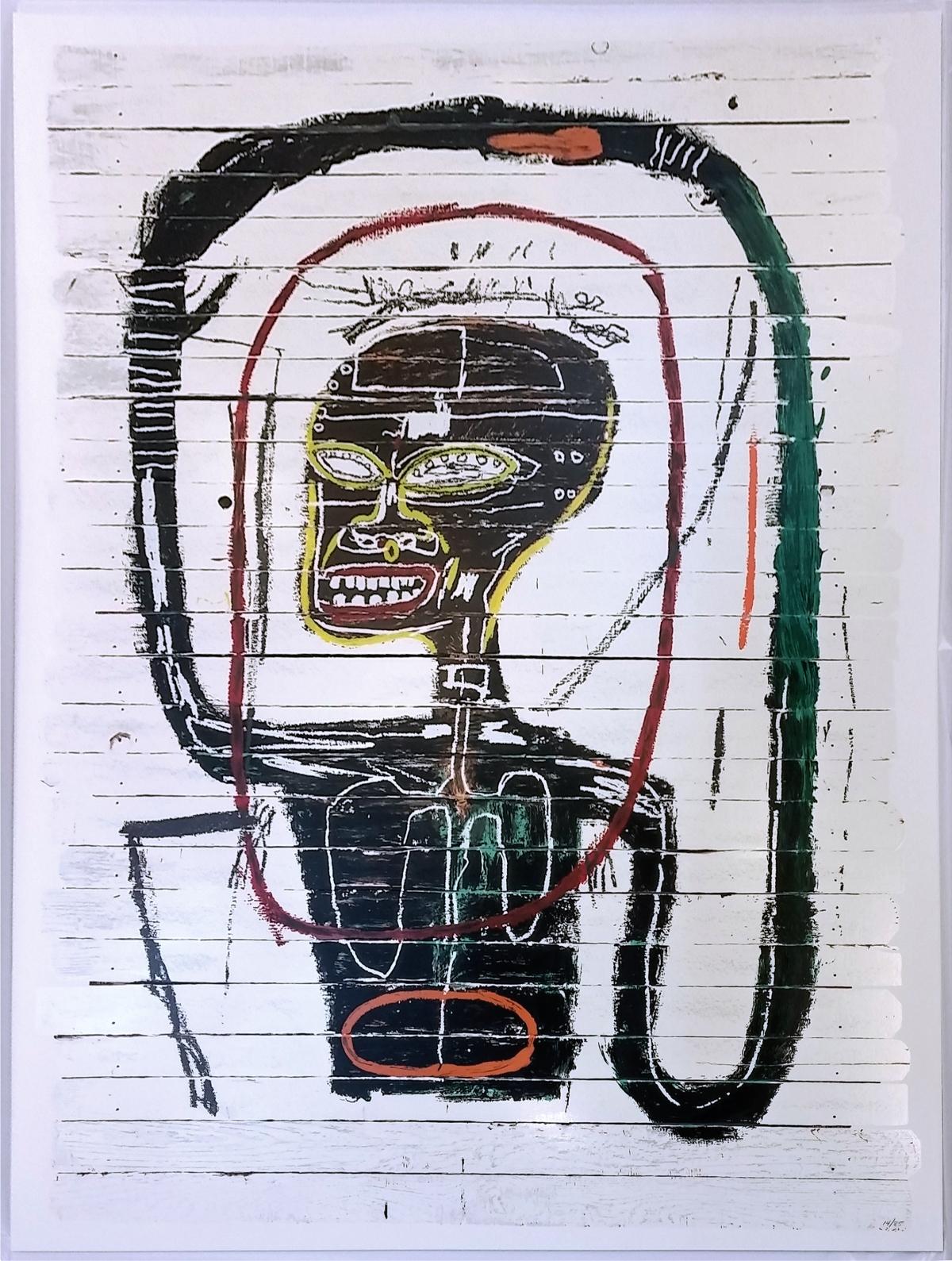 New Yorker Artist Jean-Michel Basquiat Joins the 100 MillionClub