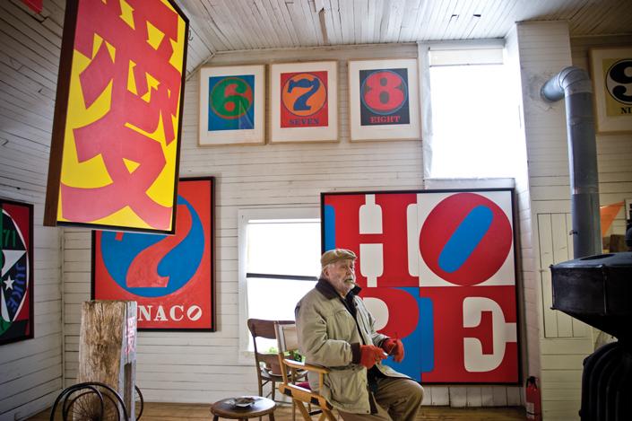 Contemporary Artist Robert Indiana: BeyondLOVE